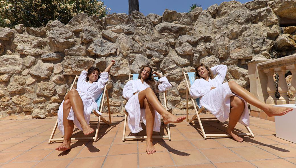 Relaxen in der Sonne Mallorcas