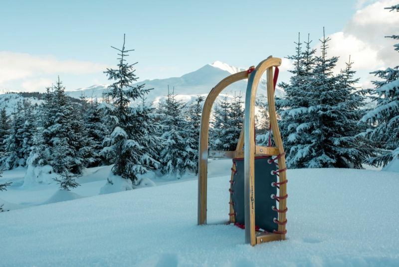 Yoga und Rodelspaß im Mühlviertler Hügelland