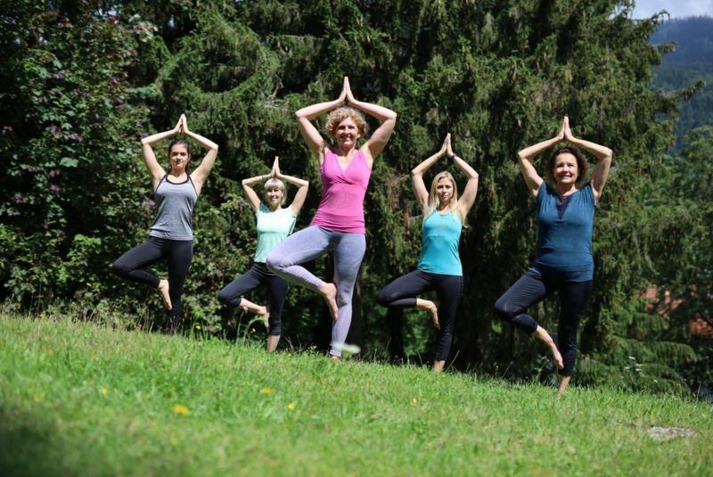 Yoga und freies, kreatives Tanzen im Mühlviertel