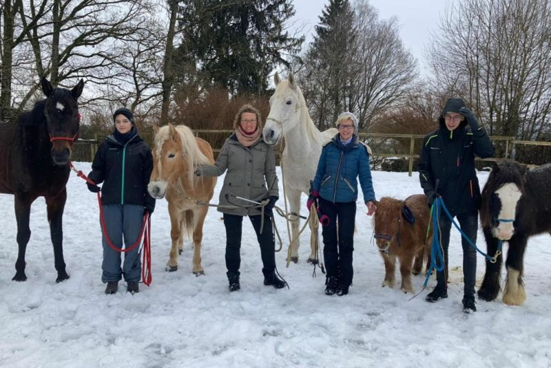 Yoga und Horsemanship – Teil 2, Aufbau-Kurs