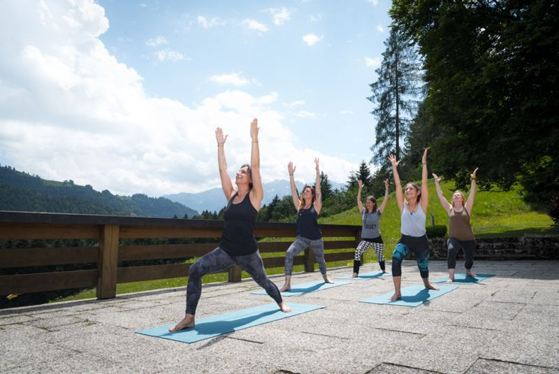 Yoga & The Work von Byron Katie im Chiemgau