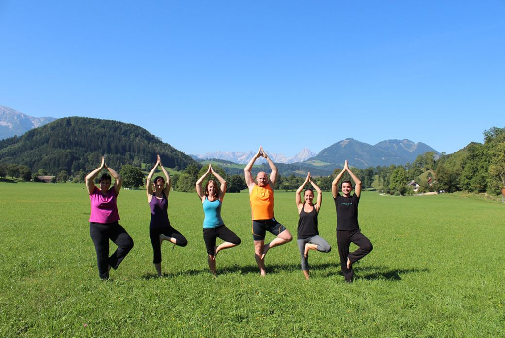 Yoga für mehr Leichtigkeit im Nationalpark