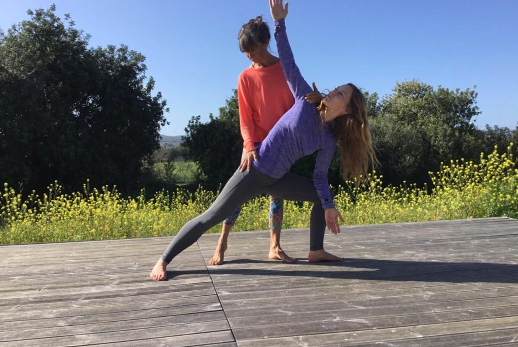 Yoga meets Thai Yoga auf Zypern