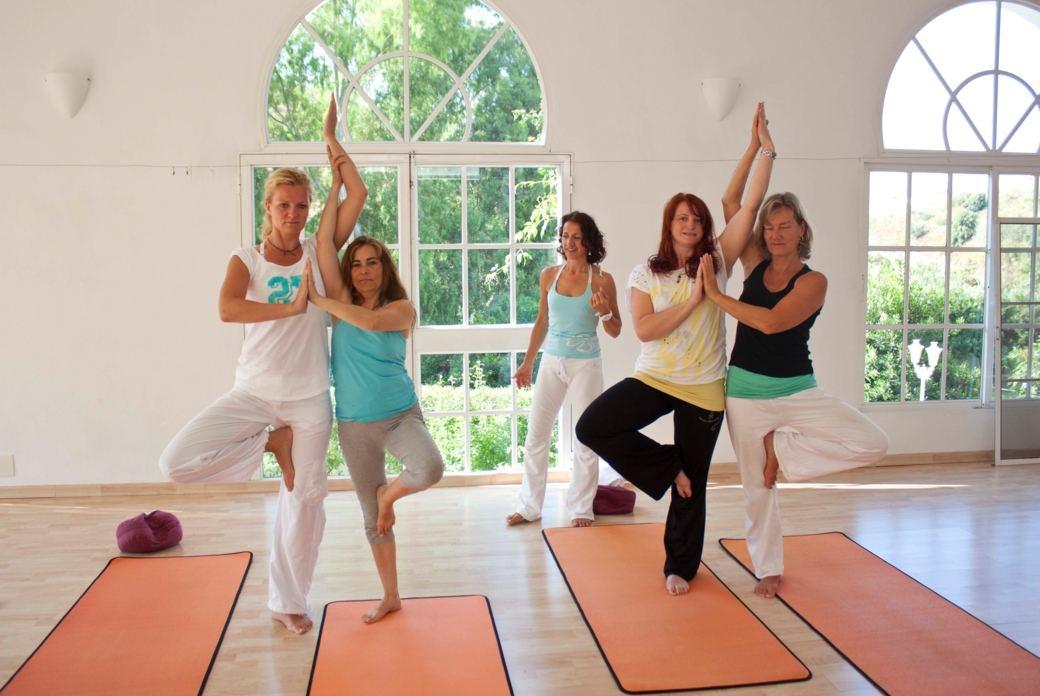 Yoga Wohlfühlurlaub Andalusien