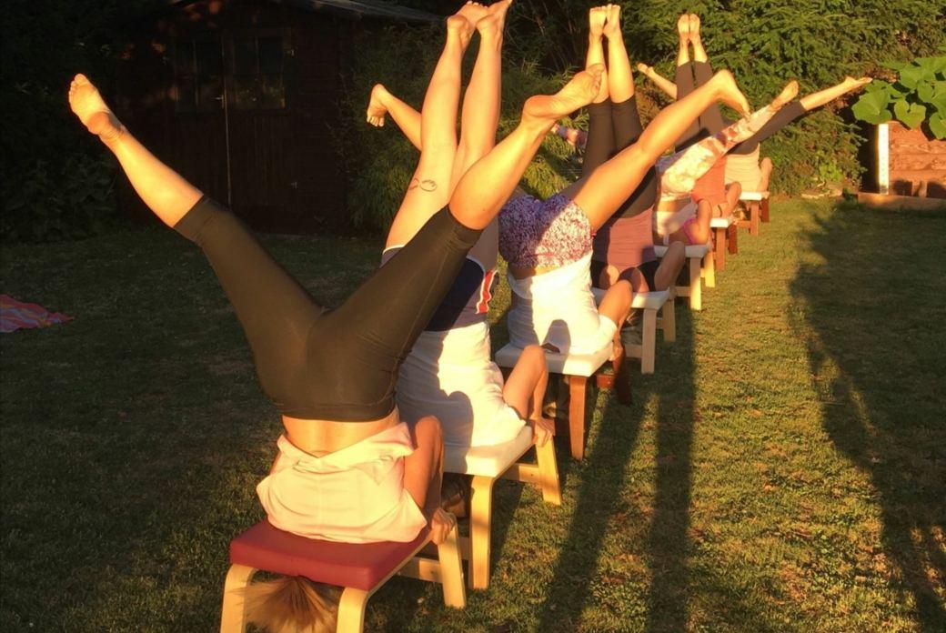 Herz über Kopf – FeetUp® Yoga