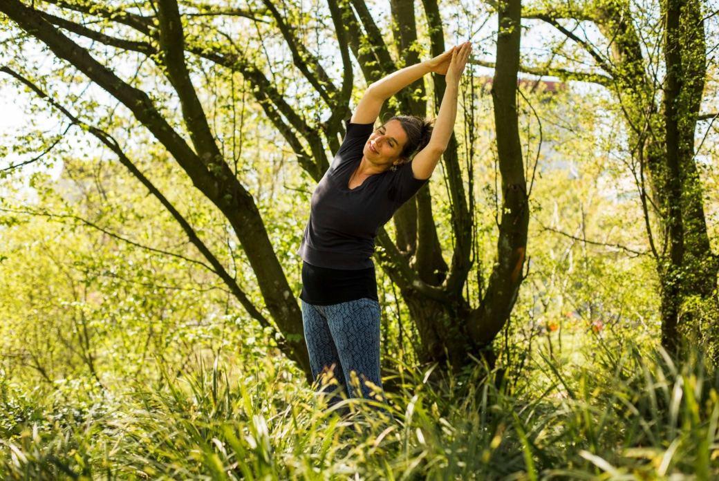 Yogaurlaub für die Frau im Nationalpark