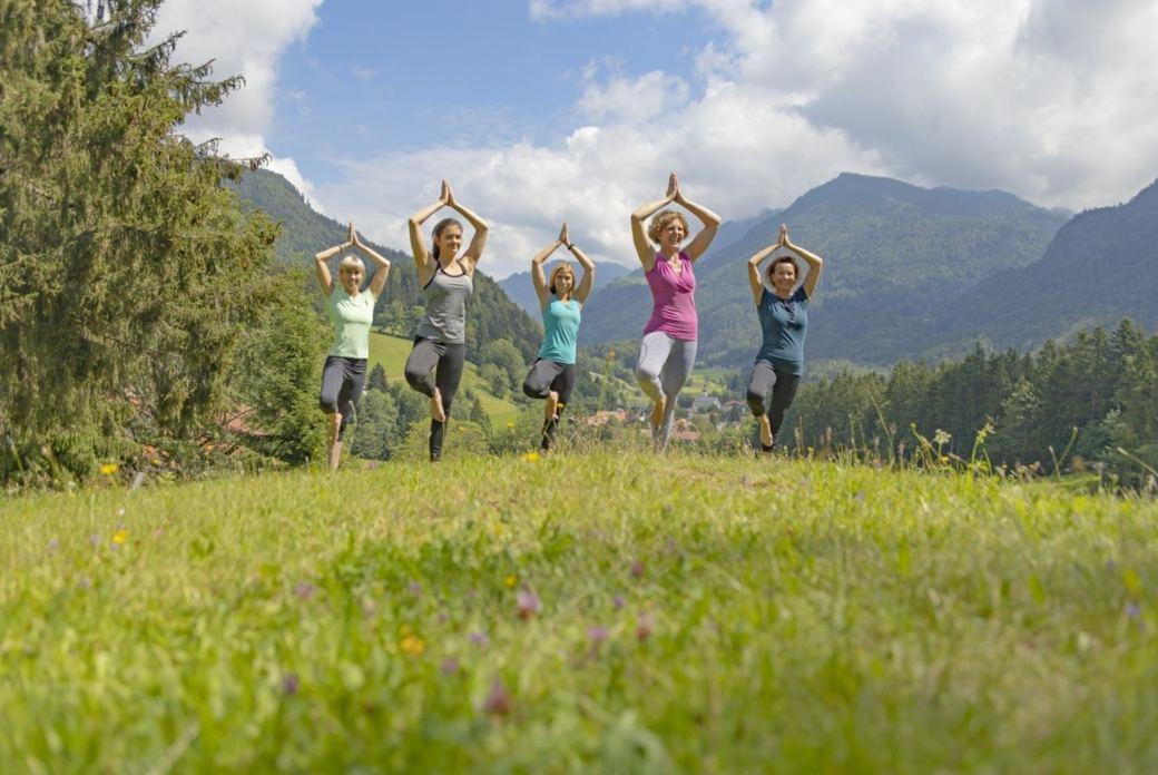 Yogaurlaub in den Bergen