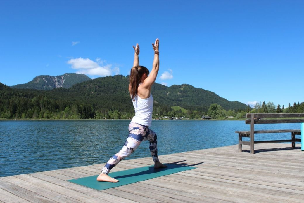 Vinyasa Flow Yoga am Weissensee