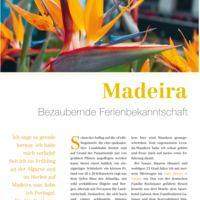 Madeira - Bezaubernde Ferienbekanntschaft