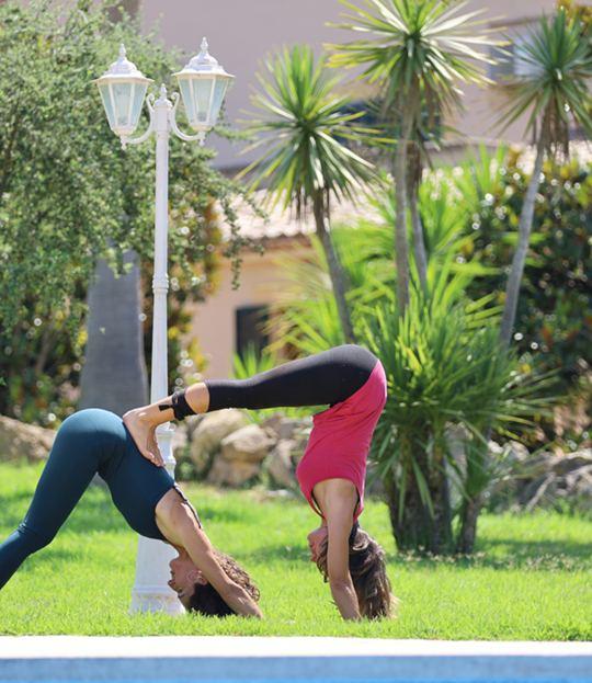 Yoga auf Mallorca – dynamisch & sportlich
