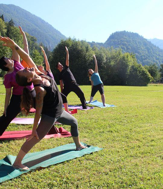 Flow meets Yin Yoga im Nationalpark Kalkalpen