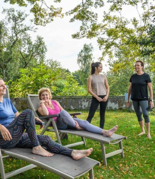 Bodybalance durch Lachen und Entspannen