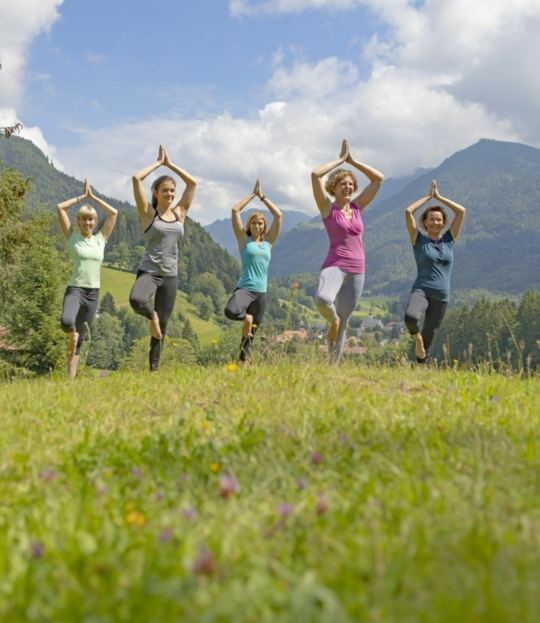 Yoga Holidays in the Mountains