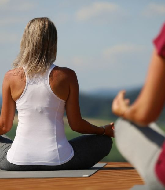 Yoga, Meditation und Wandern im Mühlviertel