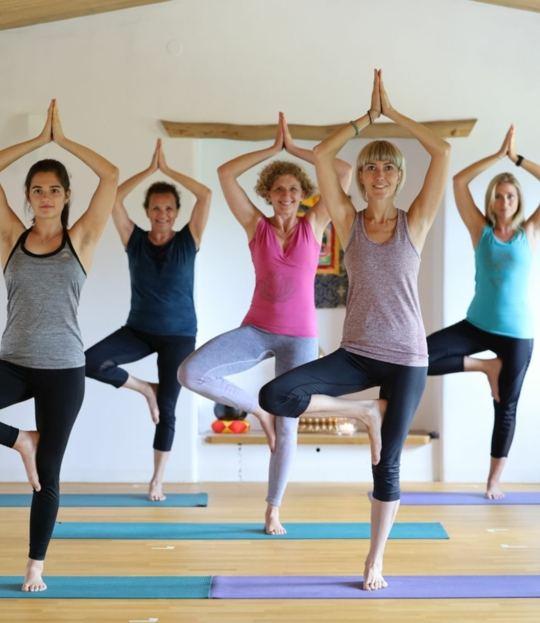 Yoga für einen entspannten Rücken im Mühlviertel